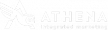 Athena Integrated Marketing Logo White - Small